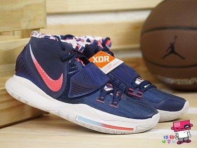 球鞋補習班 NIKE KYRIE IRVING 6 EP USA 藍紅 XDR 美國隊 籃球鞋 男 BQ4631-402