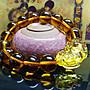 (台灣現貨結緣促銷)開光祈福招財轉運黃水晶貔貅手環黃水晶貔貅手串