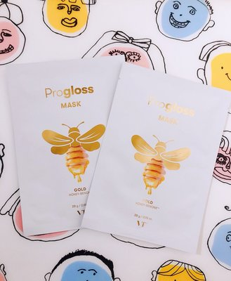 韓國VT cosmetics 黃金蜂蜜抗氧化保濕面膜(單片白色
