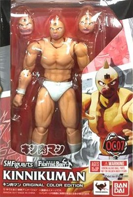 日本正版 萬代 S.H.Figuarts SHF 筋肉人 金肉人 OCE 原色版 可動 公仔 模型 日本代購