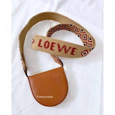 LOEWE正品代購/HEEL 焦糖色小號