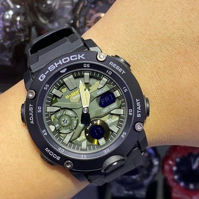 Louis手錶代購現貨卡西歐手錶  GA-2000SU-1A/S/1A2/9/3A/5A/2100/2110電子男士腕錶