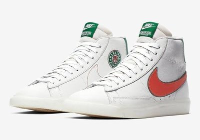【KA】NIKE STRANGER THINGS BLAZER MID白綠橘 怪奇物語CJ6101-100 us10.5