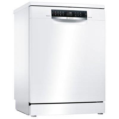 唯鼎國際【BOSCH洗碗機】德國製SMS68IW00X 6系列 獨立式洗碗機60 cm White