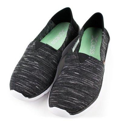 =CodE= XCESS CLASSIC 編織透氣網布休閒鞋(雲彩黑) GW051-BLK TOMS 娃娃鞋 樂福鞋 女
