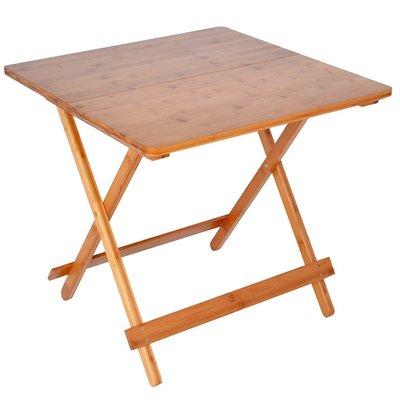 【御品生活】楠竹折疊桌ZZZ-92(L號) /麻將桌/庭院桌/野餐桌/書桌/置物桌/休閒桌
