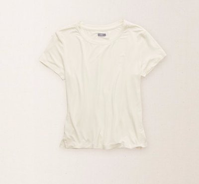 american eagle 美國鷹AERIE SUPERSOFT CROP TEE