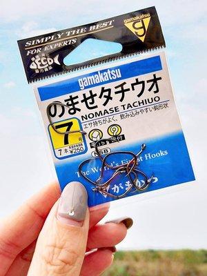 GAMAKATSU 螃蟹鉤/魚鉤 #7