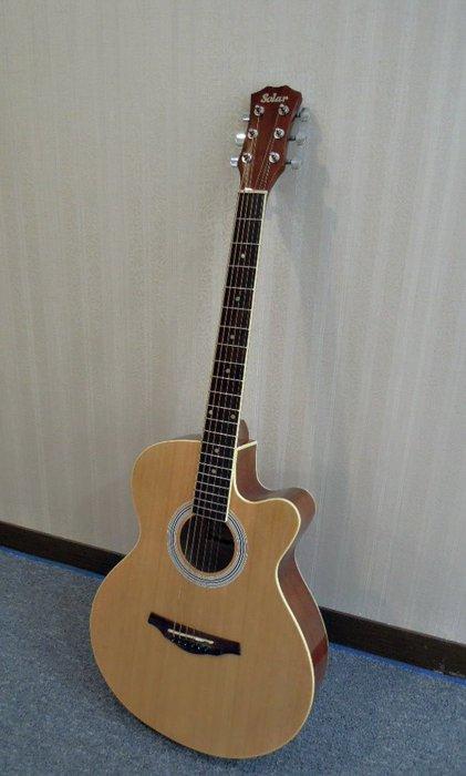 台南嘉軒樂器 全新SOLAR 木吉他 大廠製作 高品質 高質感 付厚琴袋 調整工具 PICK組 調音器 移調夾