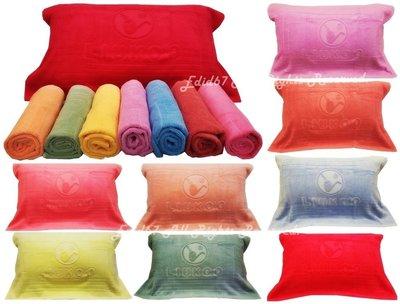 LIUKOO 煙斗牌/100%純棉枕頭巾/一對兩條/ 600元/ /無毒染印/GA HD/雅的寢具 板橋店