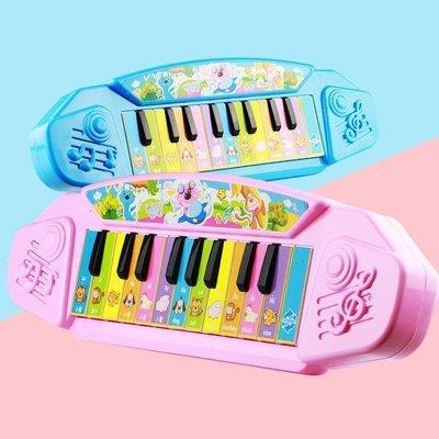 ZIHOPE 1-3歲女孩兒童電子琴鋼琴寶寶 彈奏玩具初學嬰幼兒益智學習嬰兒小ZI812