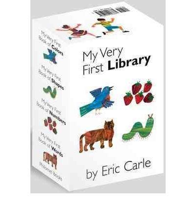 *小貝比的家*MY VERY FIRST LIBRARY / 4本合輯/硬頁/3~6歲