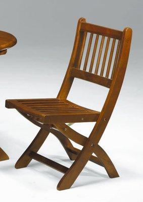 【南洋風休閒傢俱】餐廳家具系列- 實木巧思椅 用餐椅 (金624-17)