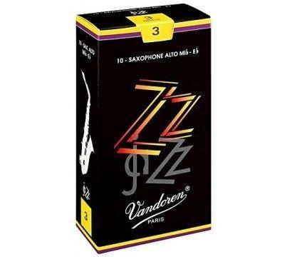 §唐川音樂§【Vandoren ZZ Alto Reeds 薩克斯風 中音 ZZ 黑盒 竹片 10片裝】(法國)