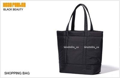 washida PLUS【HEAD PORTER BLACK BEAUTY 購物 行李袋 手提包 】- HP-3723