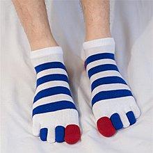 【berry_lin107營業中】短筒純彩指款棉男士五指襪 運動男款腳趾襪子舒適吸汗