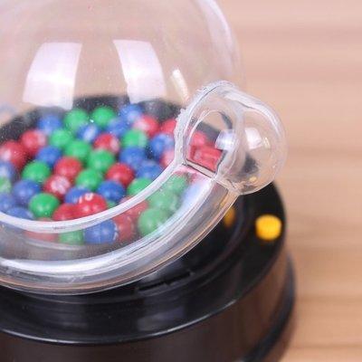 [台灣現貨]電動搖搖樂轉盤六合彩大樂透抽簽彩票號碼雙色球搖獎機模擬選號器