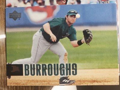 (記得小舖)MLB 2006 Sean Burroughs 坦帕灣光芒 普卡1張