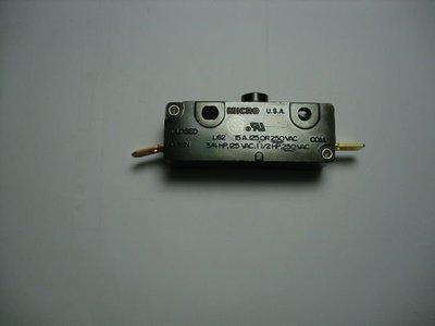 MICROSWITCH微動開關USA,15A -120V -OR-220V