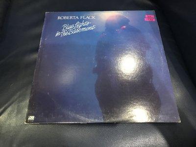 開心唱片 (ROBERTA FLACK / BLUE LIGHTS) 二手 黑膠唱片 CC200