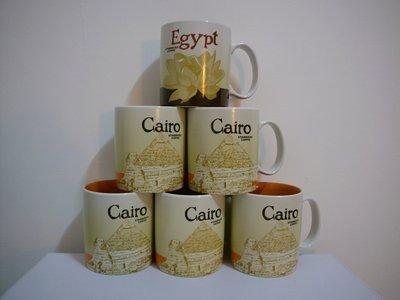 Egypt Cairo 星巴克 STARBUCKS City Mug 城市杯 馬克杯 埃及 開羅