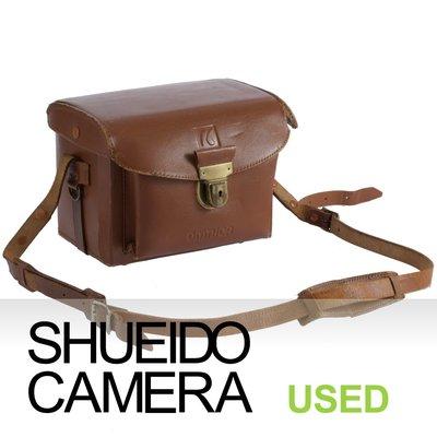 集英堂写真機【全國免運】實用品 / OMNICA 經典 復古相機包 皮革攜帶包 攝影 肩背包 20596