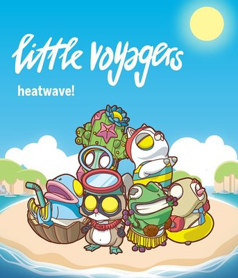 [Paradise] POP MART X COARSE 小小冒險家系列5 -熱浪- 盒玩系列 - 隨機單抽