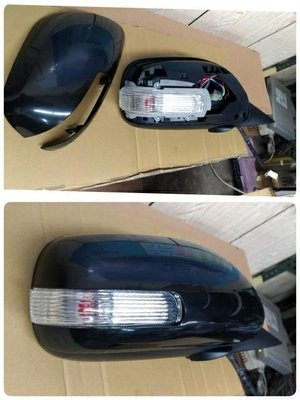 WR汽車零件~TOYOTA CAMRY 06-11 電動電折有燈  後視鏡 後照鏡