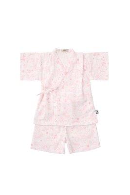 日本D.fesense 兒童日式甚平浴衣 (紛紅色) 日本製造clearance sale