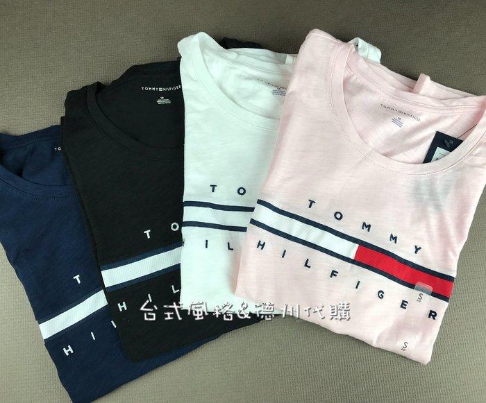 TOMMY涼感經典合身短袖T恤Tommy Hilfiger中性款女性正版新款夏季美國代購情侶T