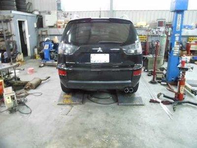 [排氣管工匠] Mitsubishi Outlander  排氣管改良 (全台獨家專利研究)