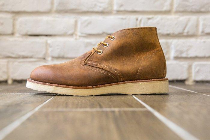 【紐約范特西】少量現貨 Red Wing 3137 棕色 洗舊 皮革短靴 工作靴 RedWing