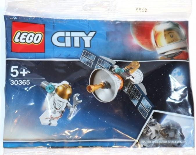 LEGO 樂高 30365 (樂高熊) 太空人 人造衛星 polybag 小包 全新未拆 保證正版