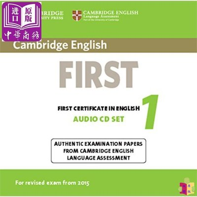 [文閲原版]Cambridge English First 1 Audio CDs (2) 英文原版 劍橋FCE考試1 真題集:CD音頻