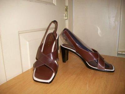 ☆bass二手名牌精品☆ ITALIAN SHOEMAKERS 義大利女用涼鞋