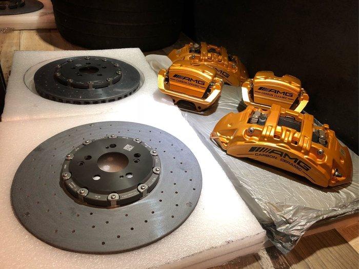 國豐動力 C63 E63 CLS63 W205 W213 W218 前陶瓷煞車系統 前405mm 後360mm現貨供應