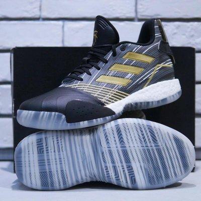 【5折】 Adidas T Mac Millennium 黑金色運動鞋 愛迪達 BOOST 低筒 籃球鞋 男EE3678