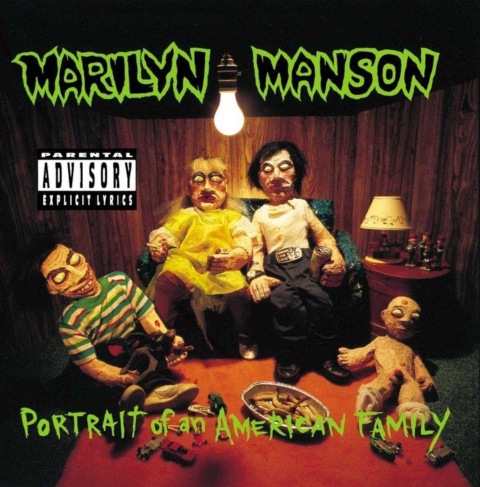 歐版全新CD~瑪莉蓮曼森 美國家庭雕像/MARILYN MANSON PORTRAIT OF AN AMERICAN F