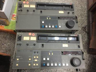 SONY  BETACAM  PVW 2600  PVM2650  PLAYER