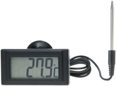 TECPEL 泰菱 》DTM-300C LCD溫度表 -50~300℃ 可設定上下警報  探針式溫度表