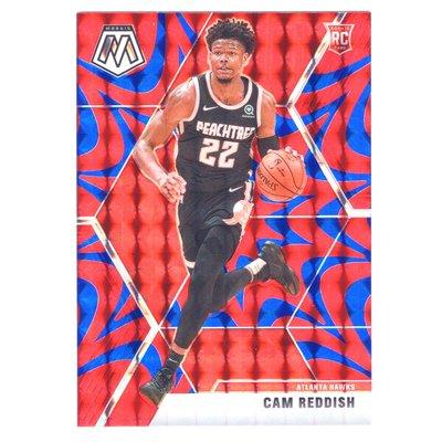 (RC) 老鷹未來 Cam Reddish / Mosaic Red Blue Reactive Prizm Rookie系列新人RC金屬卡 2019-20