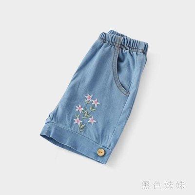 女寶寶夏季褲子1-3歲嬰兒外褲夏薄款小兒童夏裝新款女童寬鬆牛仔短褲 GD699