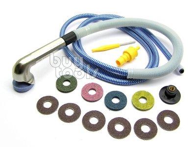 BuyTools-Air Angle Grinder《專業級》氣動筆型刻磨機 90度彎頭研磨機 30mm砂輪砂紙「含稅」