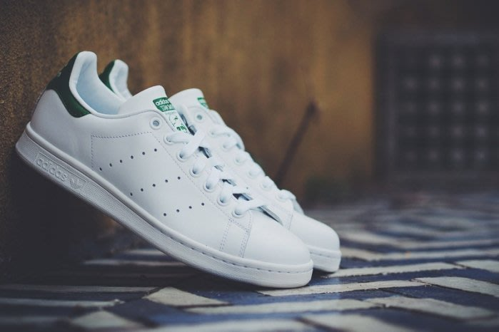 ☆AirRoom☆【現貨】Adidas originals STAN SMITH 經典款 白綠 男女 鞋 M20605