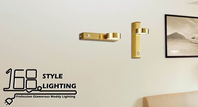 【168 Lighting】自由主義《LED壁燈》GC 20376-1