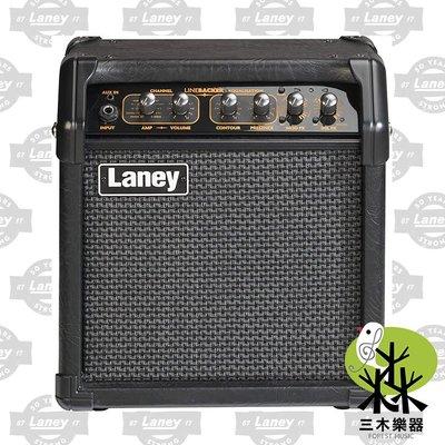 【三木樂器】公司貨 Laney LR5 電吉他 音箱 電吉他音箱 吉他音箱 5W LINEBACKER 內建數位效果器