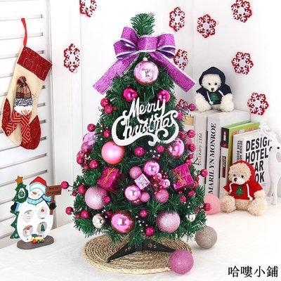聖誕樹 聖誕裝飾 套餐60cm圣誕樹商場桌面diy小圣誕樹裝飾套餐擺件圣誕裝飾品全館免運價格下殺