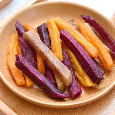 250g 三色芋薯條 芋頭條 地瓜條 紫地瓜條 黃金地瓜脆條 薯條