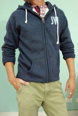 MISHIANA 英國品牌 JACK WILLS 男生款棉質連帽刷毛外套 (  特價出售 )
