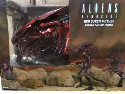 全新 Reel Toys NECA Aliens Alien Genocide Red Queen Mother
